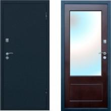 Металлическая входная дверь с зеркалом Форпост Рубеж 4
