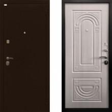Металлическая дверь Ратибор Оптима 3контура ЭкоДуб