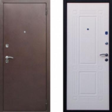 Входная металлическая дверь Атлант Бастион Беленый дуб