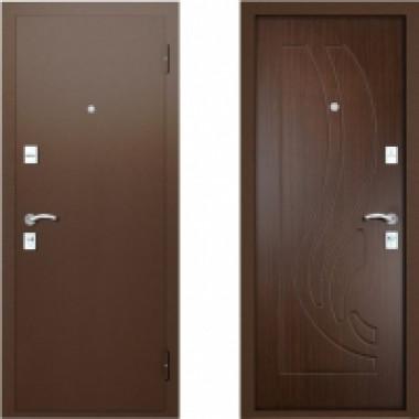 Металлическая дверь Вардо Ладья Венге