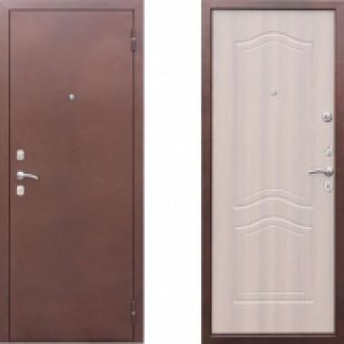 Металлическая дверь СТОП Гарда Беленый дуб