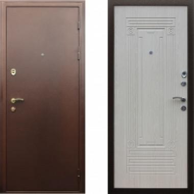 Металлическая дверь Престиж Триумф Беленый Дуб