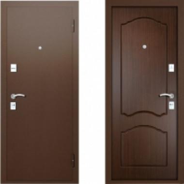 Металлическая дверь Вардо Натали Венге