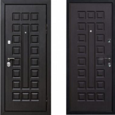 Металлическая дверь СТОП Лайт Венге