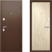 Металлическая дверь Вардо Ладья Беленый Дуб