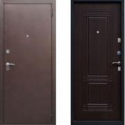Металлическая дверь СТОП Бастион Венге