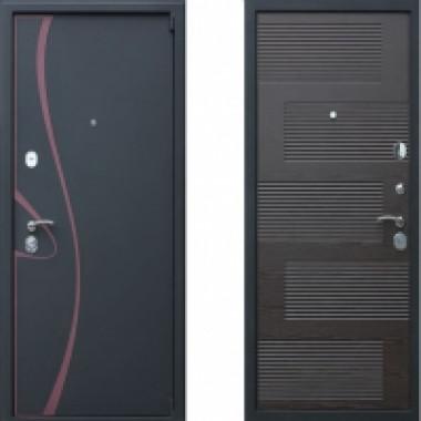 Металлическая дверь Престиж Зетта Венге