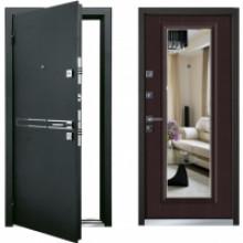 Металлическая дверь Mastino Parko венге