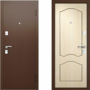 Металлическая дверь Вардо Натали Беленый Дуб