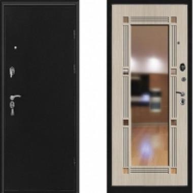 Металлическая дверь Стоп Флип с зеркалом