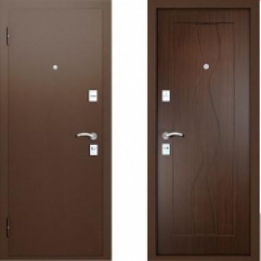 Металлическая дверь Вардо Эксклюзив Венге