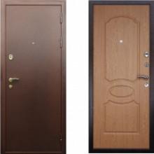 Металлическая дверь АСД Грация Дуб светлый