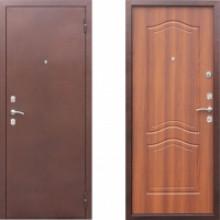 Входная металлическая дверь в квартиру СТОП Гарда Рустикальный Дуб
