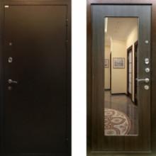Металлическая дверь Ратибор Милан ЭкоВенге c зеркалом