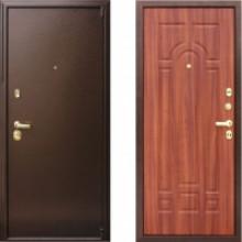 Металлическая дверь Престиж Да Винчи Каштан