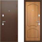 Металлическая дверь Вардо Натали Миланский Орех