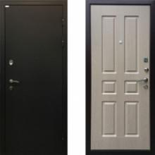 Металлическая дверь Ратибор Комфорт Беленый Дуб тепло-шумоизоляция
