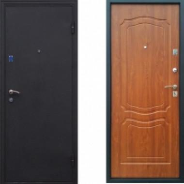 Металлическая дверь Стоп Классик Золотистый Дуб