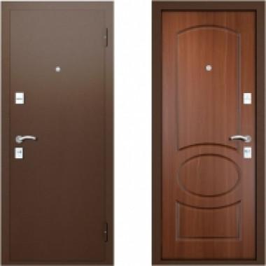 Металлическая дверь Вардо Валенсия Итальянский Орех
