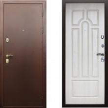 Металлическая дверь АСД Прометей Беленый дуб