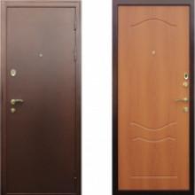Металлическая дверь АСД Триумф Миланский орех