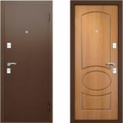 Металлическая дверь Вардо Валенсия Миланский Орех