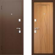 Металлическая дверь Вардо Эксклюзив Миланский Орех