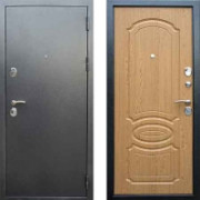 Металлическая дверь Дива МД-03 серебро