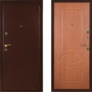 Металлическая дверь СТОП Бастион Миланский Орех