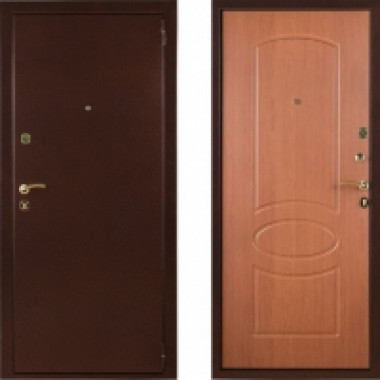 Металлическая входная дверь СТОП Бастион Миланский Орех