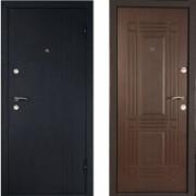 Металлическая дверь Лайн Венге