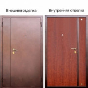 Металлическая дверь Престиж двухстворчатая