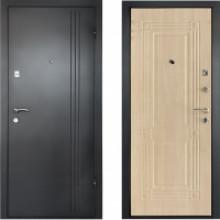 Металлическая дверь Лайн Беленый Дуб