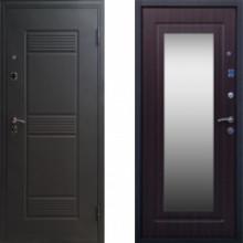 Металлическая дверь Стоп Стандарт Зеркало Венге