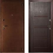 Металлическая дверь Комфорт Венге