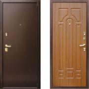 Металлическая дверь Престиж Да Винчи Дуб Рустикальный
