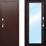 Металлическая дверь Атлант Царское Зеркало Макси Венге