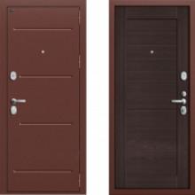 Металлическая дверь Groff T2-221 Венге