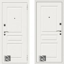 Входная металлическая дверь Кондор Х4 Белый Матовый