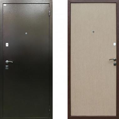 Металлическая входная дверь Ратибор Форт Беленый Дуб