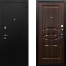 Металлическая дверь Ратибор Классик 3контура Орех Бренди с шумоизоляцией