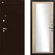 Входная металлическая дверь Ратибор Люкс Зеркало