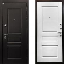 Металлическая дверь Ратибор Лондон 3контура Белый Матовый