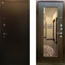 Входная металлическая дверь c зеркалом Ратибор Милан ЭкоВенге