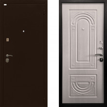 Входная металлическая дверь Ратибор Оптима 3контура ЭкоДуб