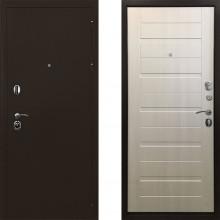 Входная металлическая дверь Ратибор Тренд 3контура Лиственница Беж