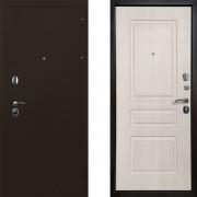 Входная металлическая дверь Ратибор Троя 3контура Лиственница Беж