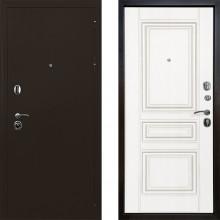 Входная металлическая дверь Ратибор Троя 3-контура Матовый Белый