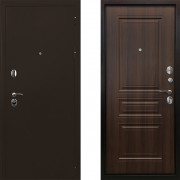 Входная металлическая дверь Ратибор Троя 3контура Орех Бренди
