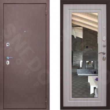Входная металлическая дверь Снедо Патриот с зеркалом